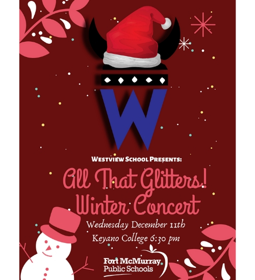 All That Glitters! winter Concert @ Keyano College | Fort McMurray | Alberta | Canada